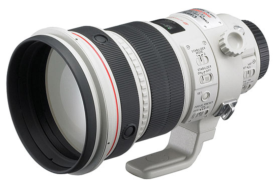 Canon EF200mm f2L IS USM