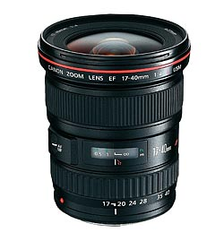 Canon 17-40mm f/4L USM review