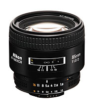 Nikkor 85mm f/1.8 D review roundup