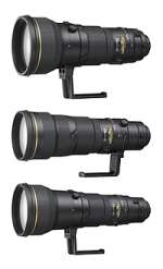 Three new super-telephoto Nikkor lenses